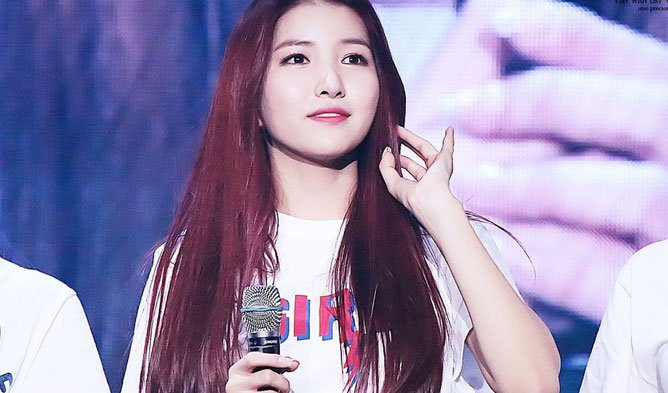Sowon - rap ke vocal