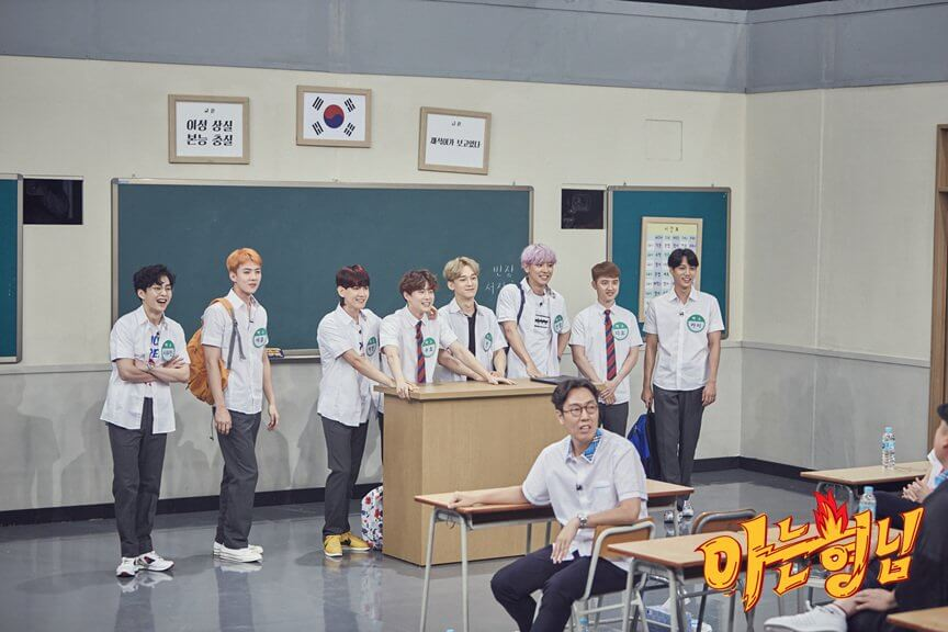 7 Idol Group di Knowing Brothers yang Wajib Kamu Tonton
