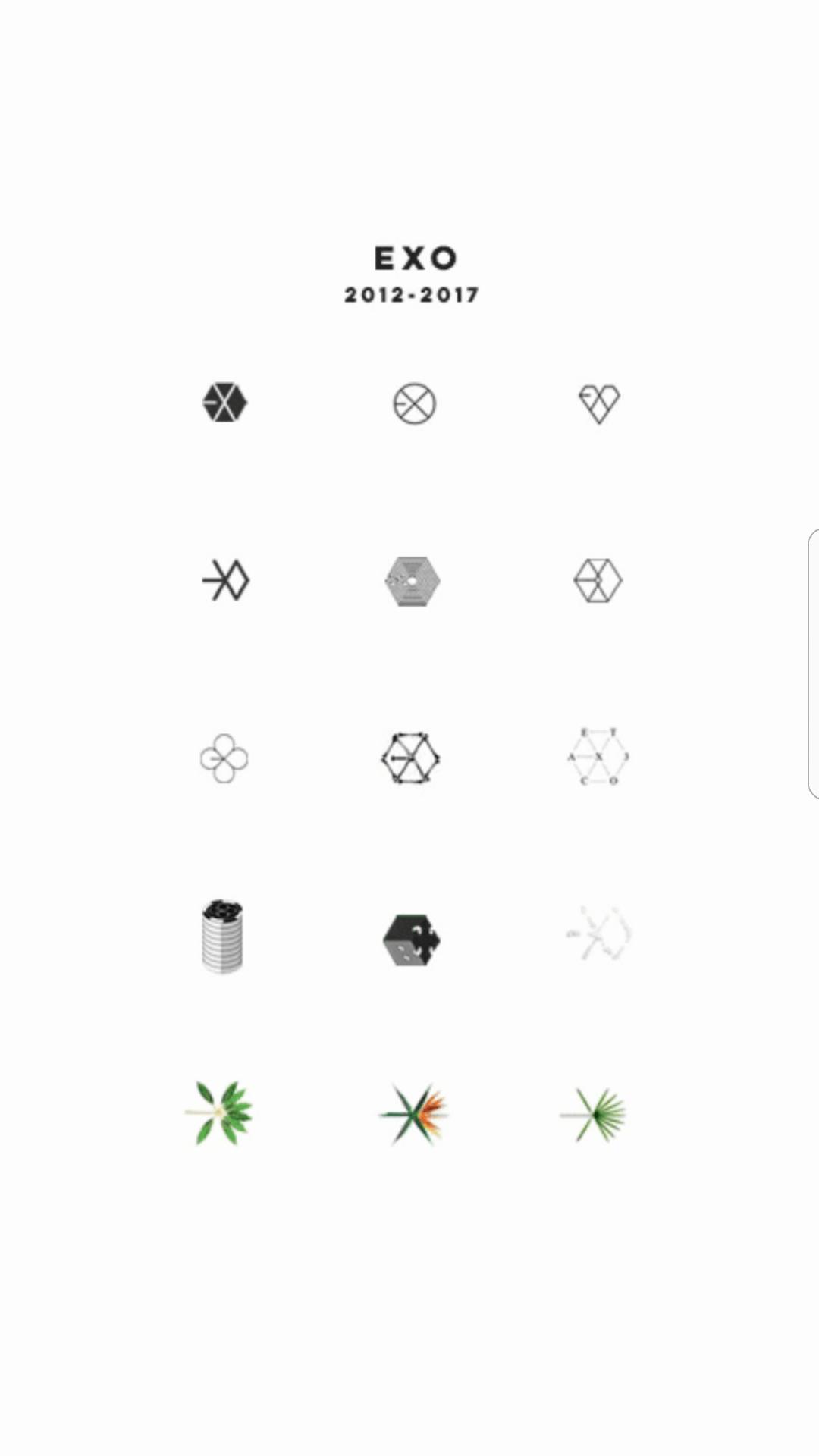 Perubahan Logo EXO Sejak Debut Hingga Saat Ini IniKpop
