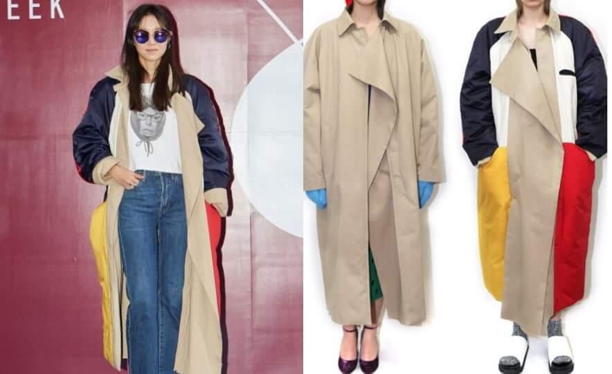 Fashion Selebriti Korea Dalam S S Hera Seoul Fashion Week 2018 Inikpop