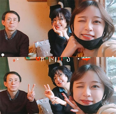 orang tua idol kpop