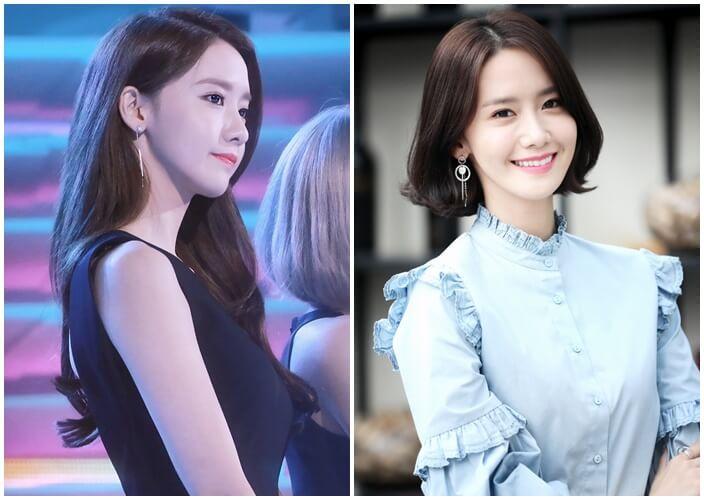 Yoona perubahan penampilan