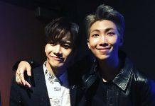 Jackson GOT7 dan RM BTS