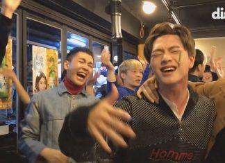 idol kpop saat lagi mabuk