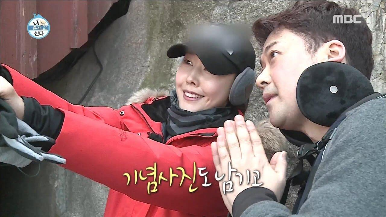 Jeon Hyun Moo and Han Hye Jin