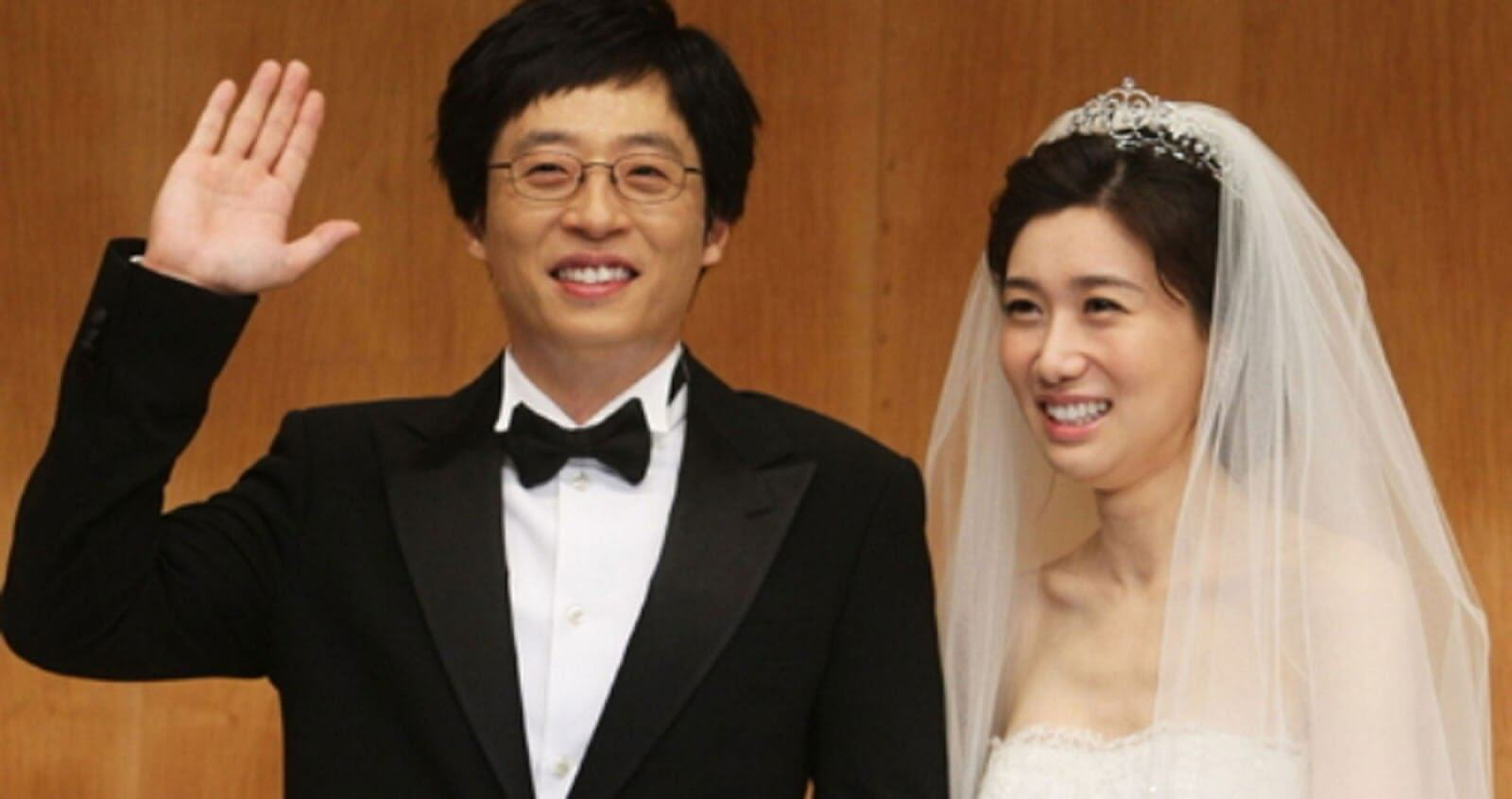 Yoo Jae Suk dan Na Kyung Eun