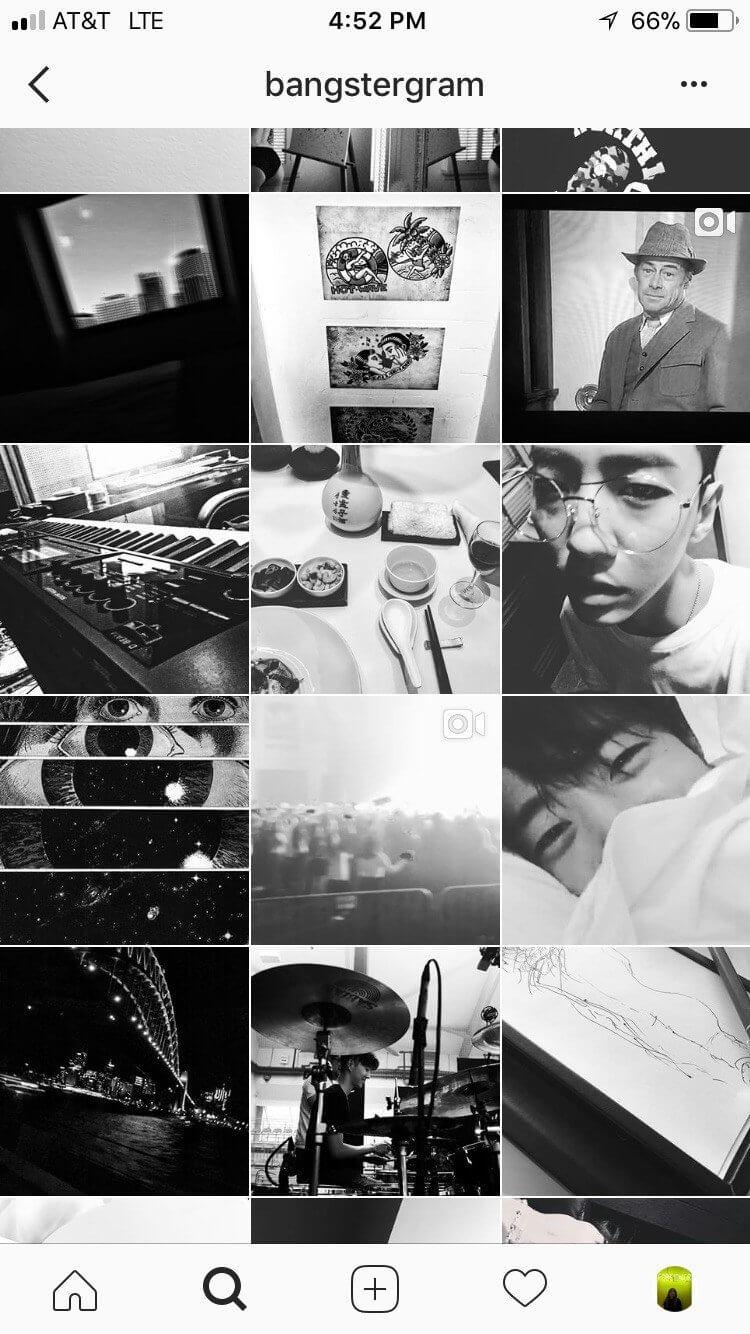 bang yong guk instagram