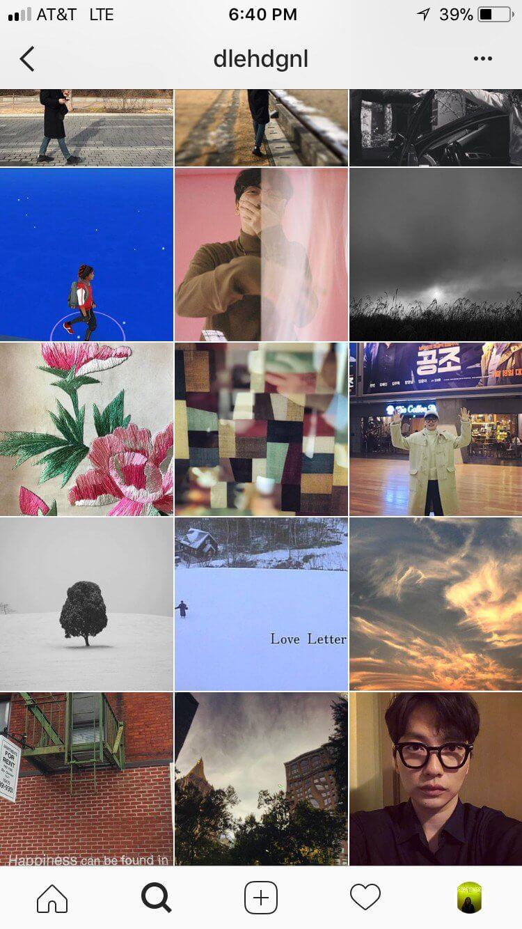 lee dong hwi instagram