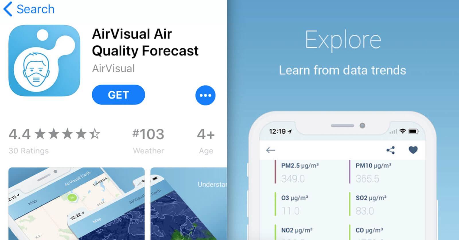 AirVisual Air Quality