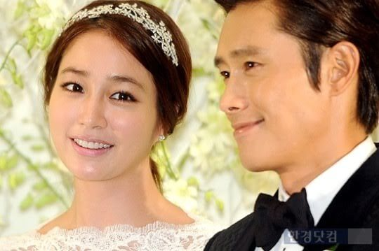 Lee Byung Hun + Lee Min Jeong