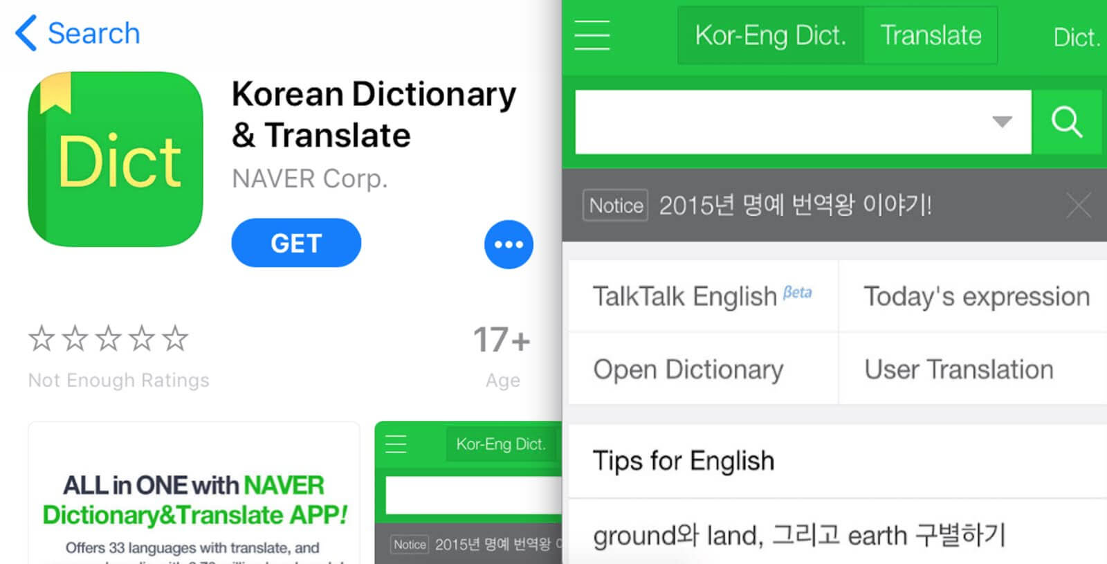 Naver Dictionary