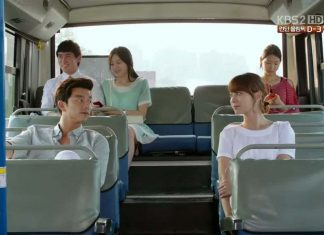 bus scene