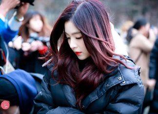 gaya rambut Irene Red Velvet