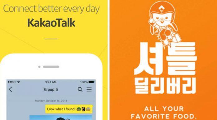 aplikasi paling populer di Korea