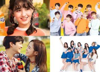 Selebriti Korea yang jadi bintang iklan minuman