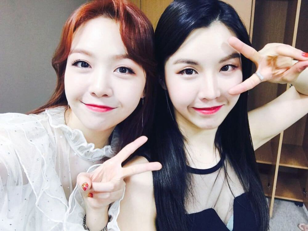 Minah (Girls Day) & Linah (Wanna.B)