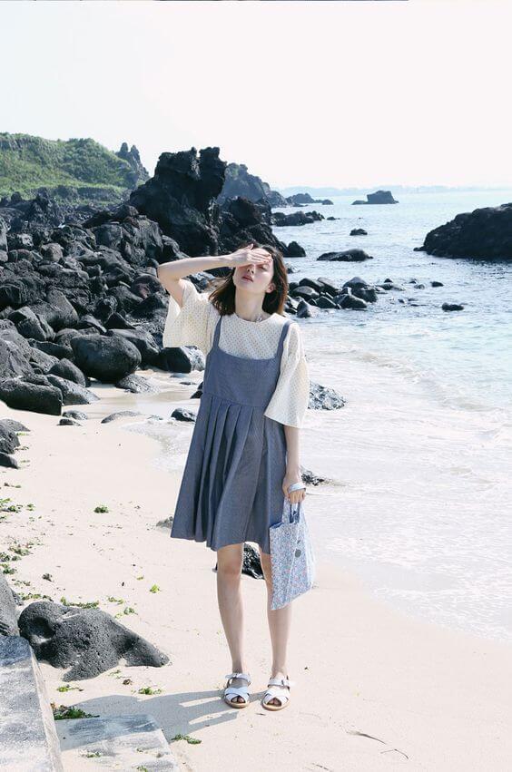 musim panas di korea