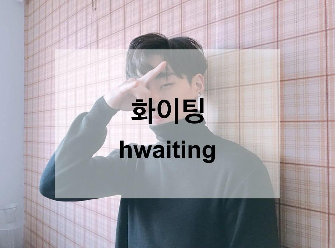 화이팅 (hwaiting)