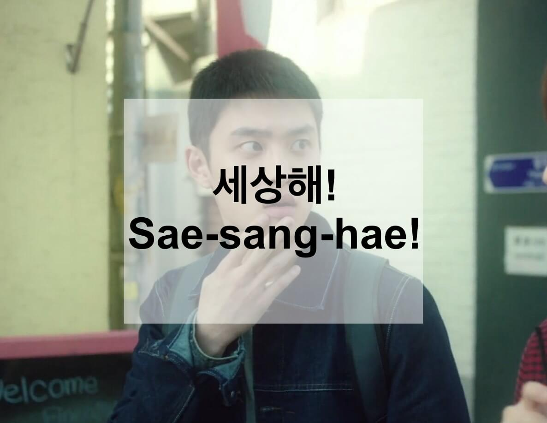Sae-sang-hae!