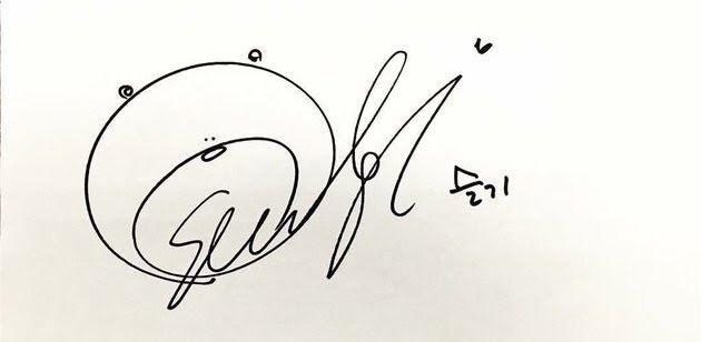 Ini Dia Idol Idol Kpop Dengan Tanda Tangan Terunyu Inikpop