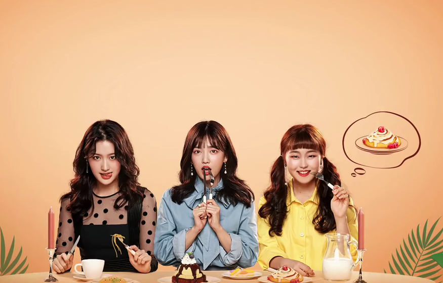 Web Drama Just One Bite, Curhat Percintaan Sambil Ngemilin Makanan