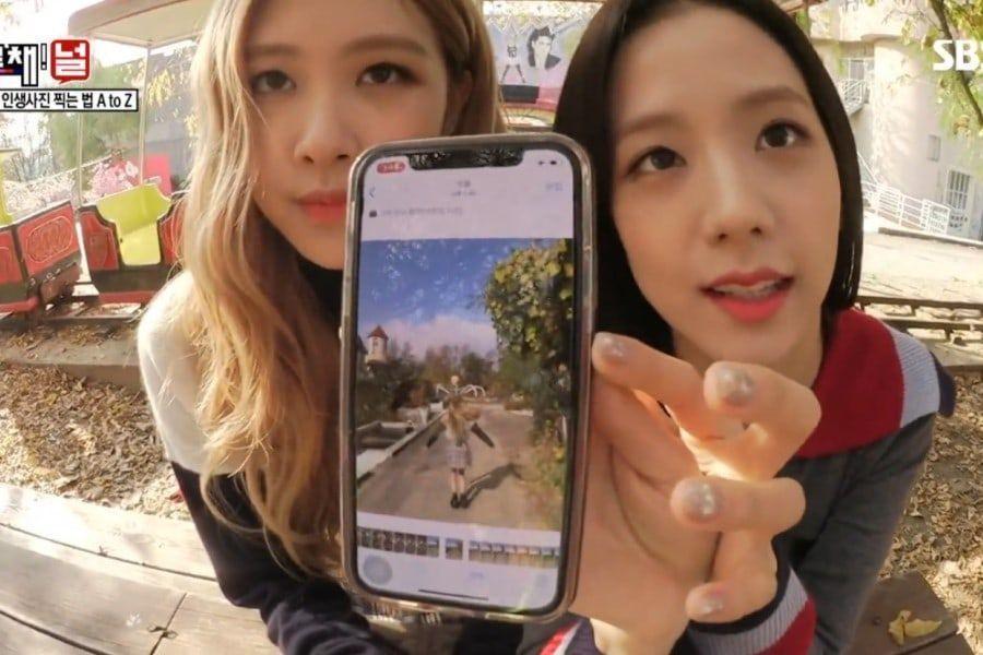Jisoo Dan Rose Blackpink Berbagi Tips Membuat Foto Aesthetic Yuk Praktekin Inikpop